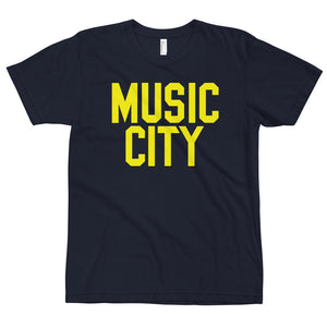 Music City Basic Text T-Shirt