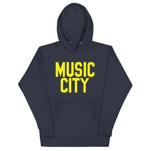 Music City Basic Text Unisex Hoodie