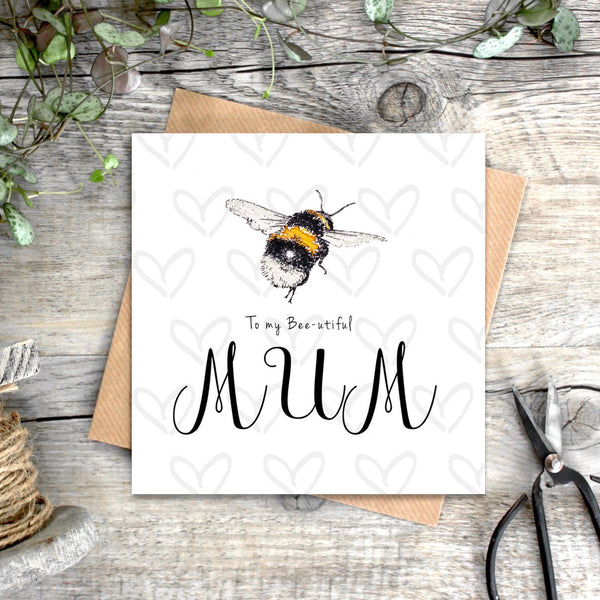 Toasted Crumpet Bee-utiful Mum Card