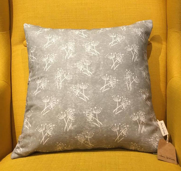 Sam Wilson Parsley Seed Grey Cushion