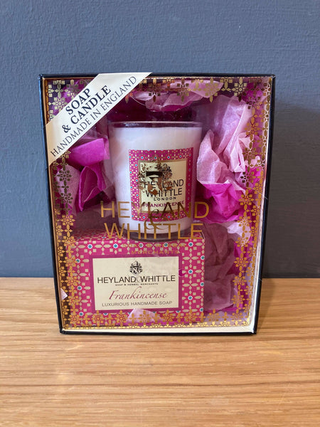 Votive Candle & Soap Gift Box -Frankincense - NOW 40% OFF