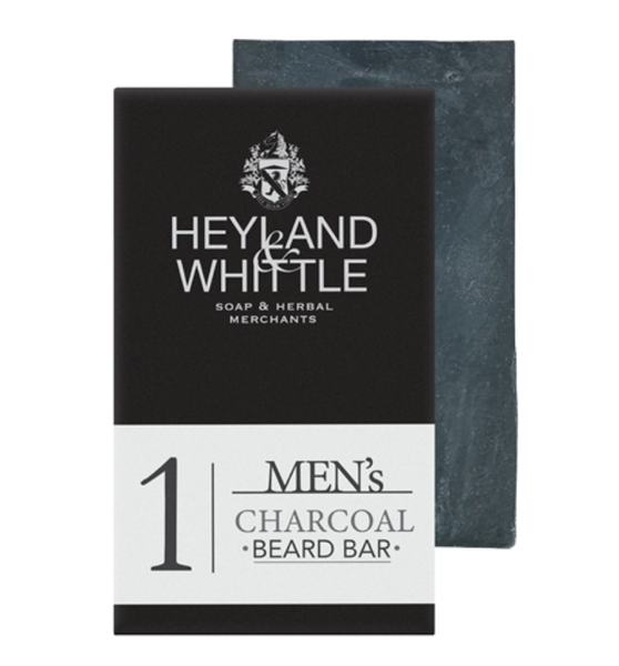 Heyland and Whittle Men's Charcoal Beard Bar