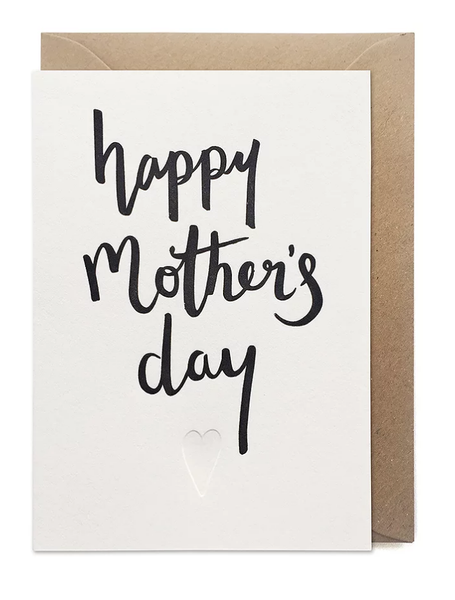 Over the C Happy Mother's Day Script Card