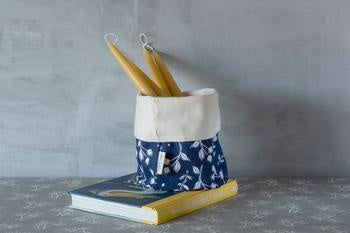 Sam Wilson Rosehip Navy Pot Bag