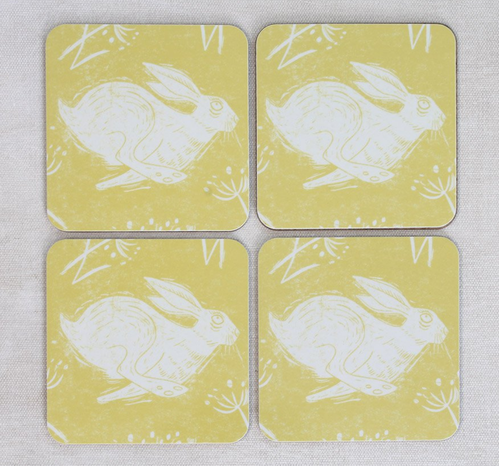 Sam Wilson Headlong Hare Coasters