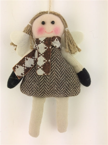 Angelic Fairy in Country Tweed
