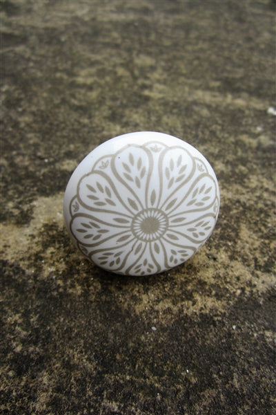 Marrakesh Ceramic Knob