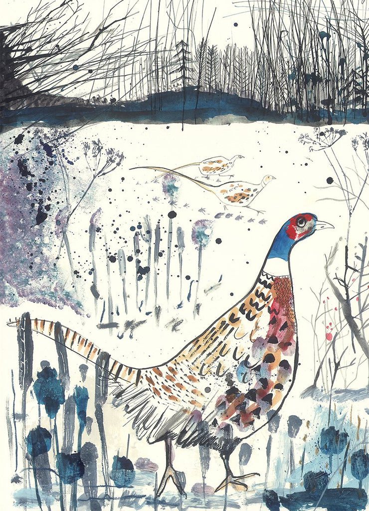 Sam Wilson Game Bird Print