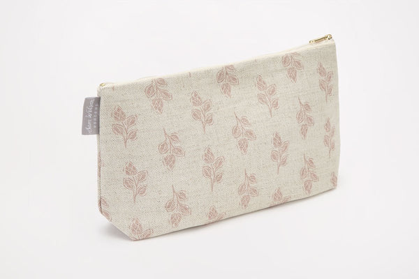 Sam Wilson Pink Flora Medium Washbag
