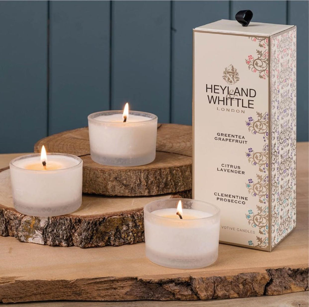 3 Votives Gift Box - NOW 40% OFF