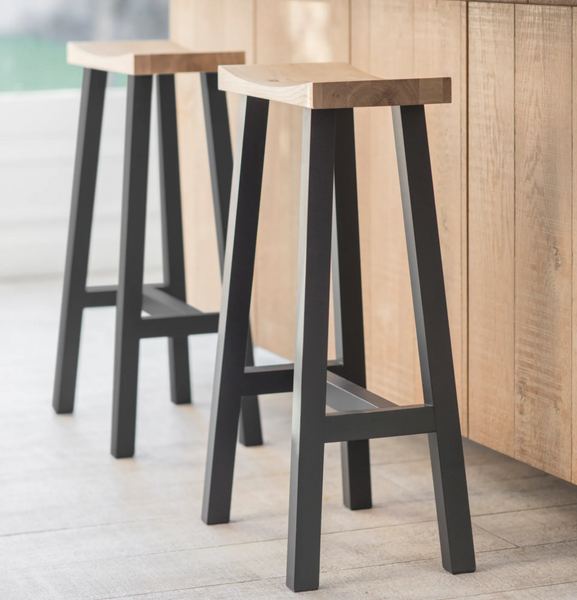 Tall Clockhouse Beech Stool