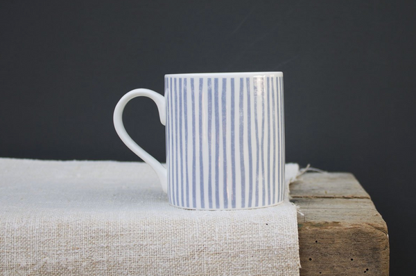 Sam Wilson  Blue Stripe Mug - NOW 30% OFF