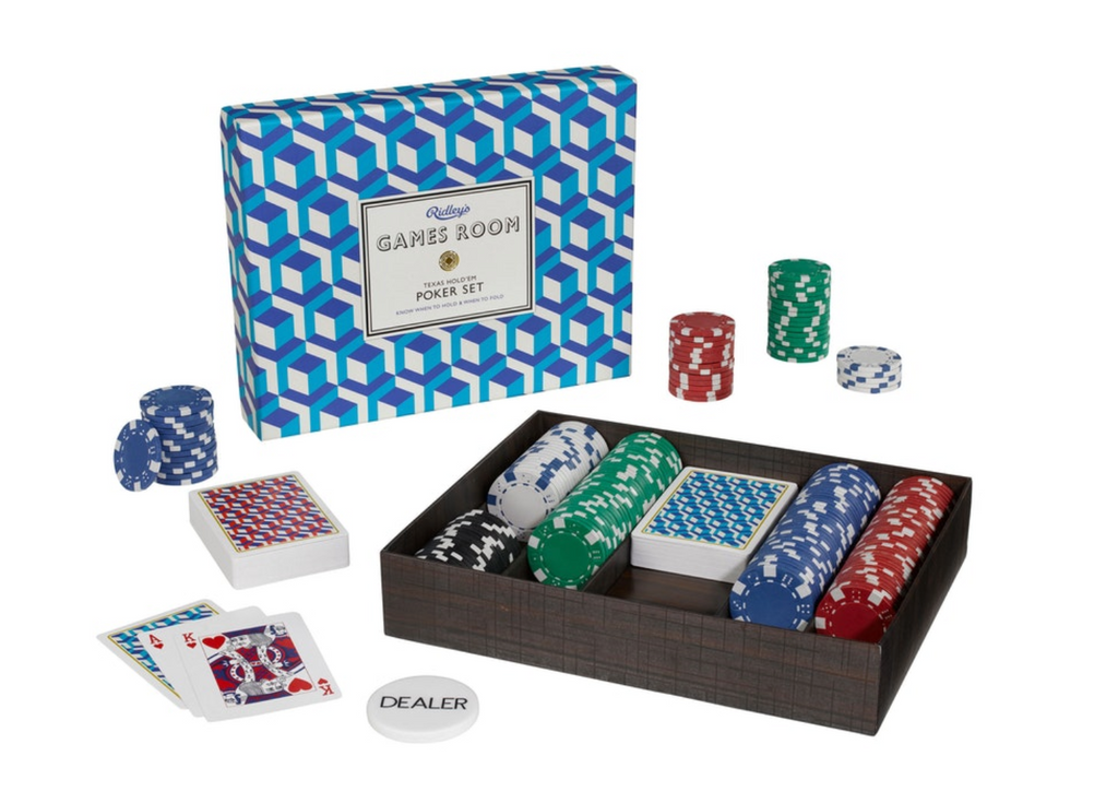 Ridley's Poker Set - NOW 20% OFF
