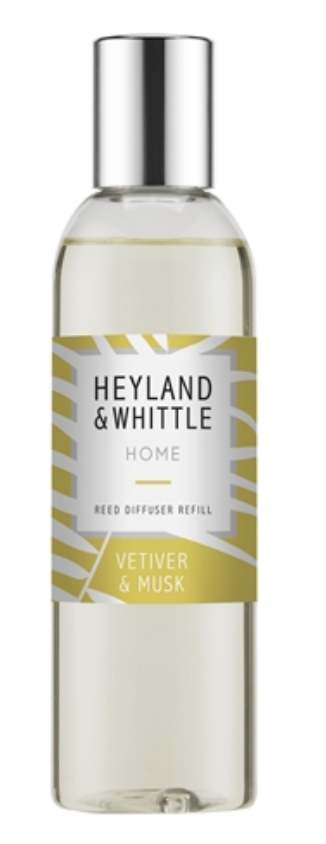 Heyland and Whittle Vetiver and Musk Diffuser refill