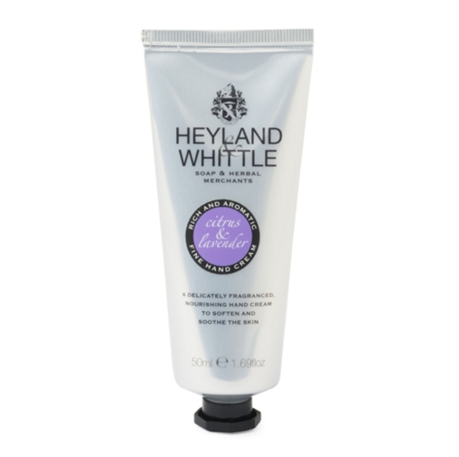 Calming Citrus and Lavender Hand Cream - September Sale - 25% OFF