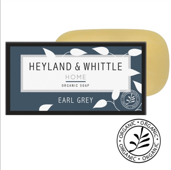 Heyland and Whittle Earl Grey Organic Soap Bar