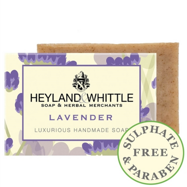 Heyland and Whittle Lavender Soap Bar 120g