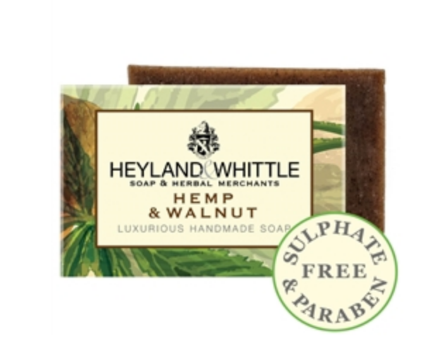Hemp and Walnut Soap Bar - September Sale - 25% OFF