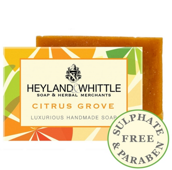 Citrus Grove Handmade Soap - January Sale