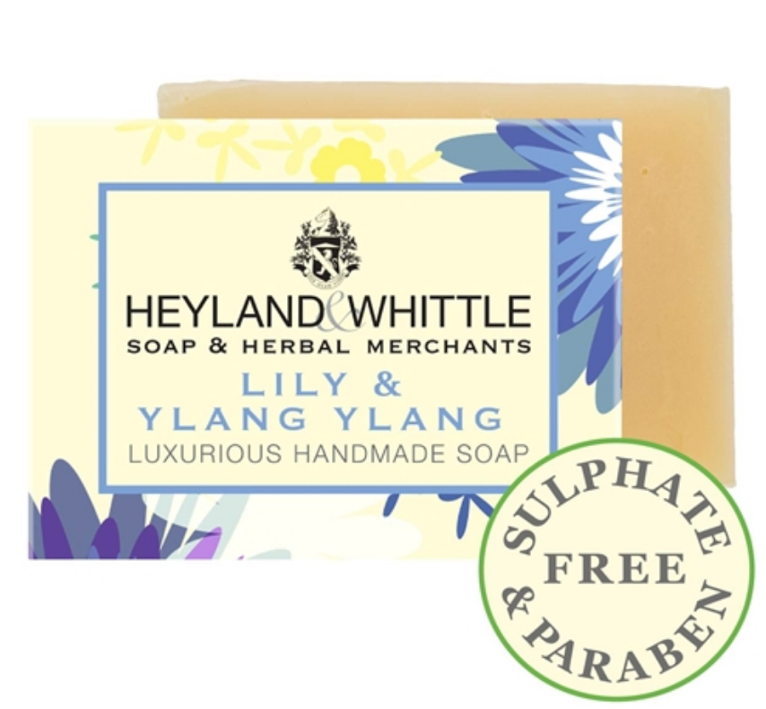 Heyland and Whittle Lily & Ylang Ylang Mini Favour Handmade Soap 45g