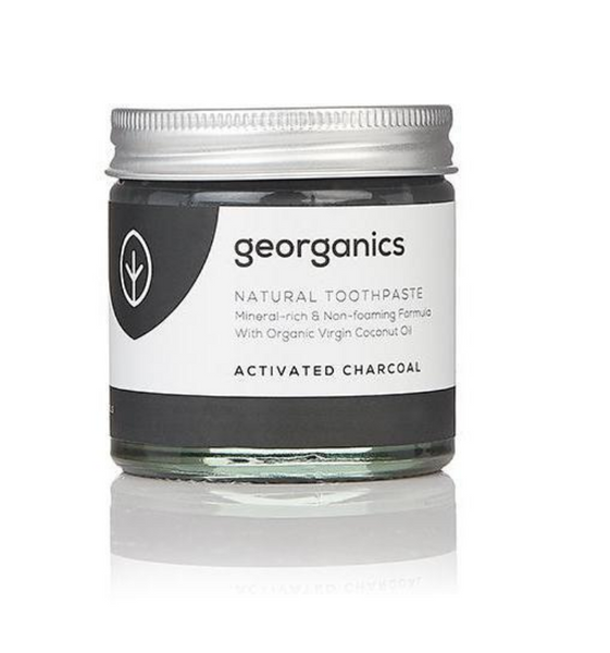 Georganics Toothpaste: Activated Charcoal - 60ml - 25% OFF