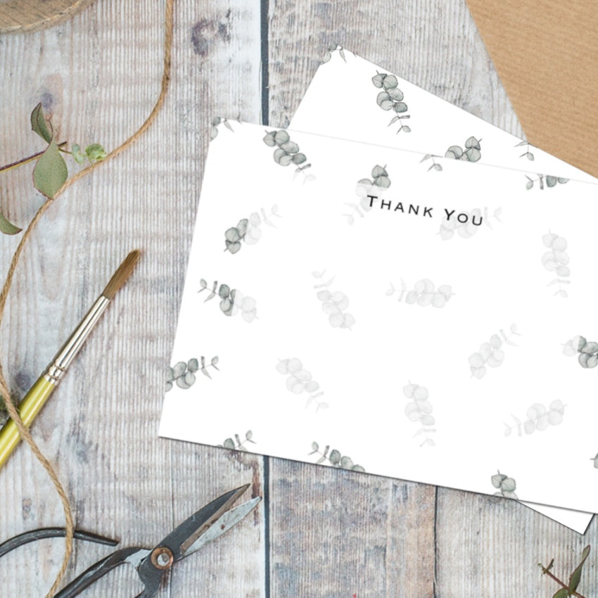 Toasted Crumpet Thank You Card Set