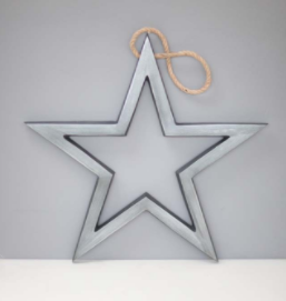 Tutti Antique Nickel Hanging Star - NOW 20% OFF