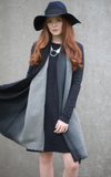 Tutti Grey Graduated Scarf - NOW 25% OFF