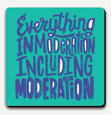U Studio Moderation Coaster
