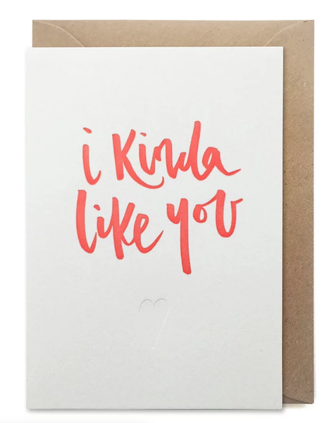 Over the C I Kinda Like You Card