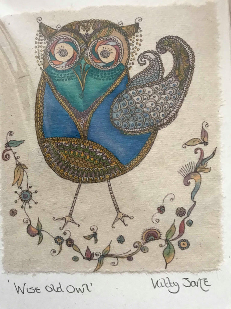 Kitty Jane Wise Old Owl