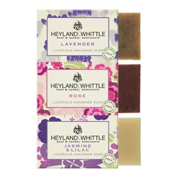 Heyland and Whittle Floral Trio Soaps