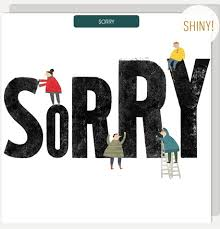 U Studio Big Sorry Card - NOW 20% OFF