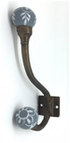 Coat Hook - Ashdown  Trailing Bloom