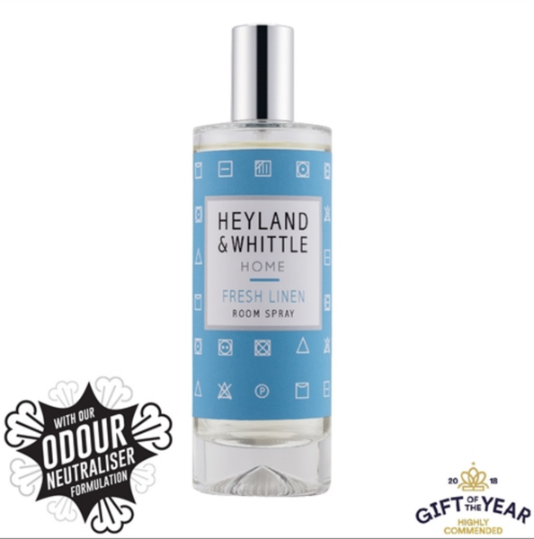 Heyland and Whittle Fresh Linen Room Spray