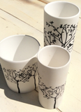 Woodland Cylinder Tealight Holder - NOW 20% OFF
