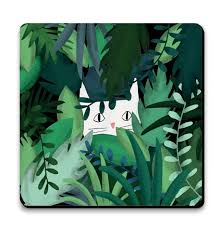 U Studio Jungle Cat Coaster - NOW 20% OFF