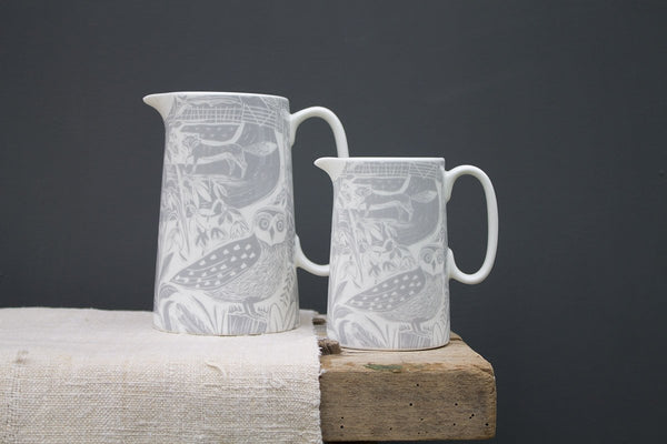 Sam Wilson Owl and Fox Jug