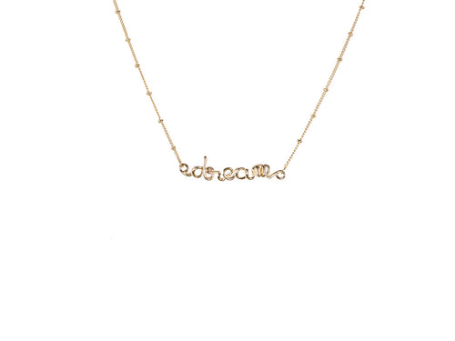 Melania Gold Dream Necklace