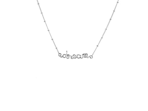 Melania Silver Dream Necklace