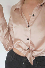 Goldie Olivia Blush Pink Shirt