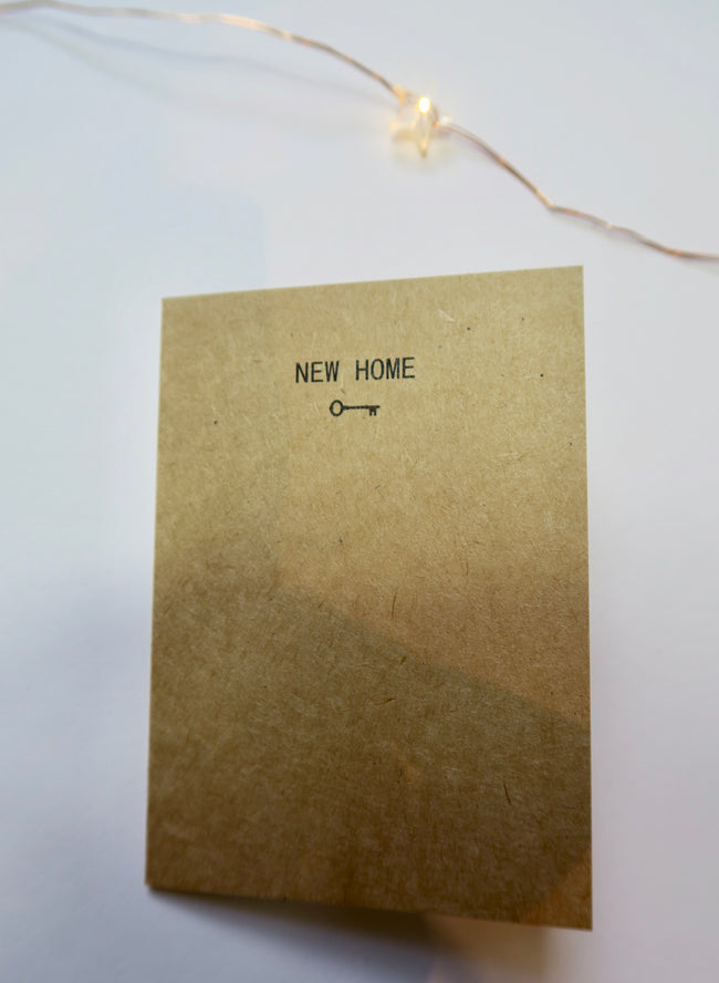 'NEW HOME' Mini Card