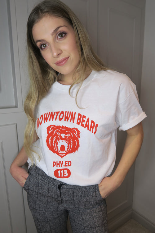 Downtown Bears Oversized Tee