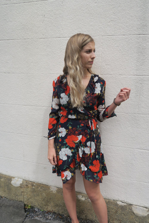 Wyldr Poppy Wrap Dress