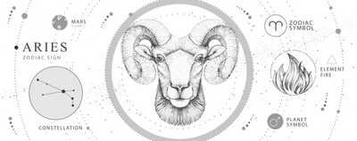 This Aries Season Brings a Full Moon & New Moon Of Growth, Romance & Positive Intentions