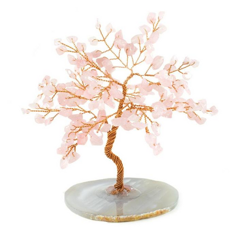 Rose Quarts Feng Shui Tree