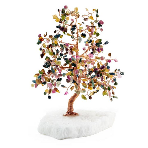 Tourmaline Feng Shui Tree