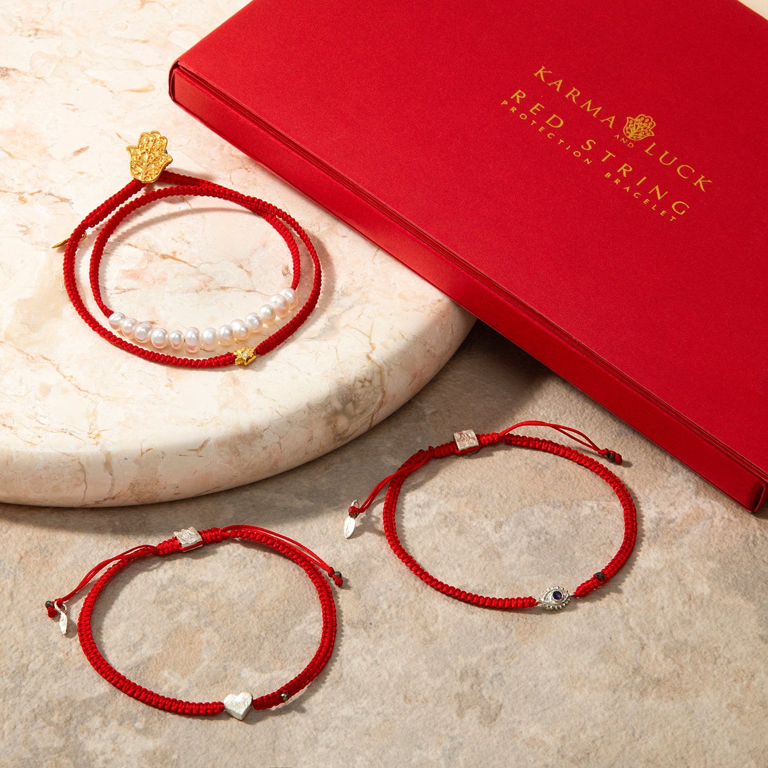 Red String Collection for Mom