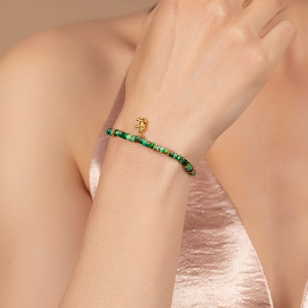 Emerald Birthstone Meaning With Elephant