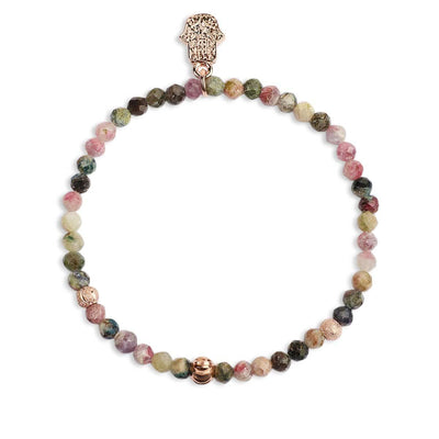 Guided by Grace Rose Pulseira de ouro - Karma e sorte | Compre online